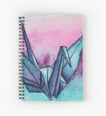 Senbazuru Spiral Notebook