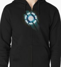 Arc Reactor T-shirt Design Zipped Hoodie