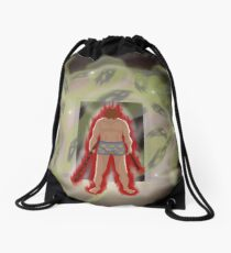 Yellow Ducky Boxers Drawstring Bag
