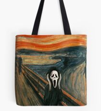 (The) Scream Parody Tote Bag