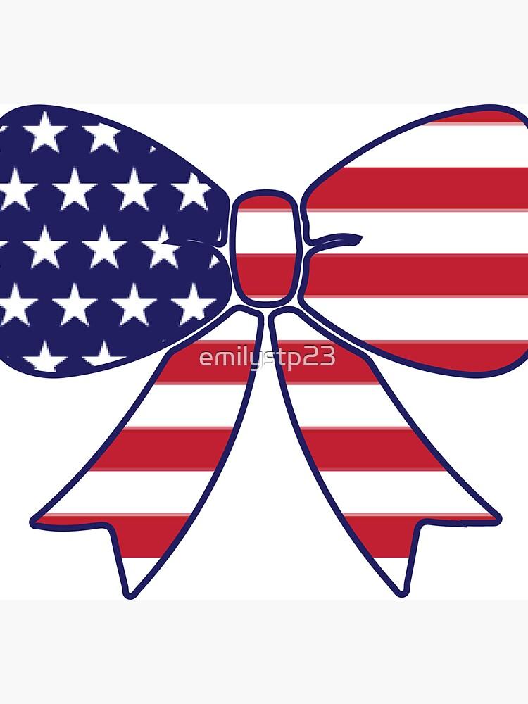 Arco de la bandera estadounidense de emilystp23