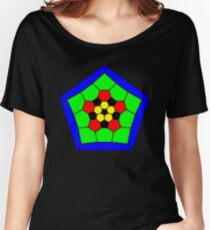 "GraphData[""TruncatedIcosahedralGraph""].  Women's Relaxed Fit T-Shirt"