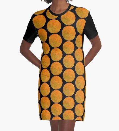 Inflorescence III Graphic T-Shirt Dress
