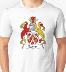 Baxter Coat of Arms / Baxter Family Crest Unisex T-Shirt