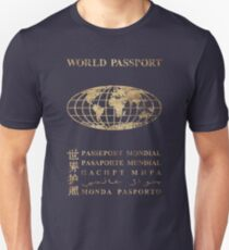 World Passport  V01 Unisex T-Shirt