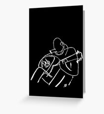 Guitar Man Greeting Card