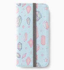 Kristalluniversum iPhone Flip-Case/Hülle/Klebefolie
