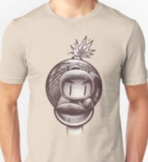 HAND WITH REFLECTING BOMB Unisex T-Shirt