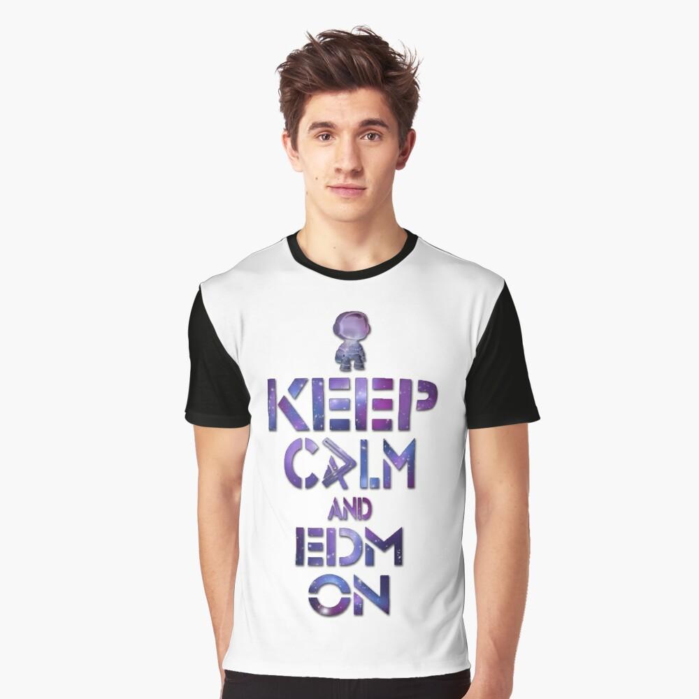 EDM  Graphic T-Shirt Front