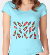 Hot Sauce!  Women's Fitted Scoop T-Shirt