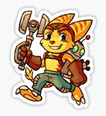 Ratchet & Clank Sticker