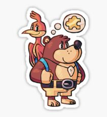 Banjo Kazooie Sticker