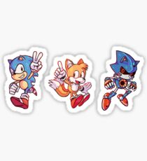 Sonic Trio Sticker