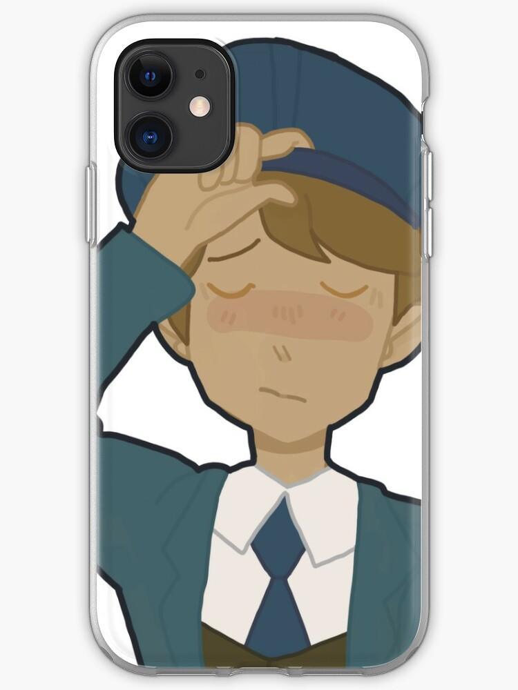 Professor Layton And The Unwound Future iphone case