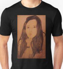 Beautiful Woman blowing kisses Unisex T-Shirt