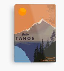 Lake Tahoe. Metal Print