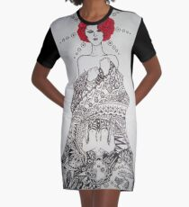 Mirror Graphic T-Shirt Dress