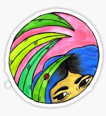 Ladybuggin' Sticker