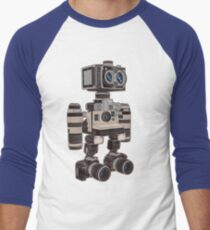 Camera Bot 6000 Men's Baseball ¾ T-Shirt
