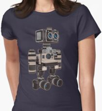 Camera Bot 6000 Womens Fitted T-Shirt