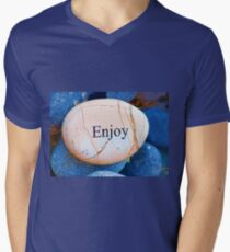 ENJOY  Mens V-Neck T-Shirt