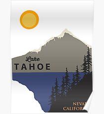 Lake Tahoe. Poster
