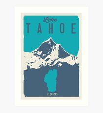 Lake Tahoe. Kunstdruck