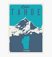 Lake Tahoe. Photographic Print