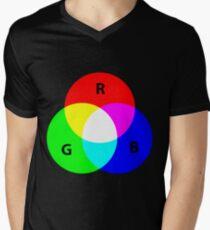 ROYGBIV Men's V-Neck T-Shirt