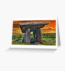 Ireland - Dolmen Greeting Card
