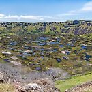 Rano Kau Volcanic Crater, Rapa Nui (Easter Island) Chile by Graham Gilmore