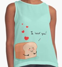 I loaf you! Sleeveless Top