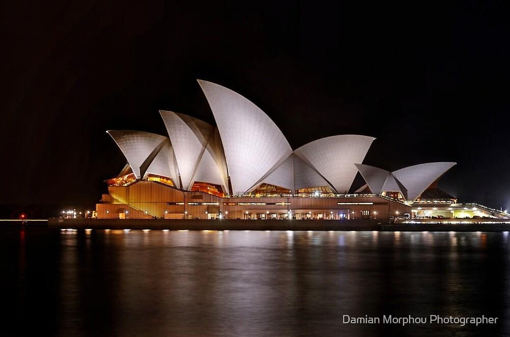 Opera house by Damian Morphou