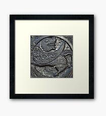 Mythical Creature, 1170AD Framed Print