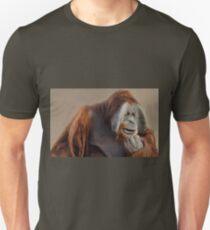 The Thinker - Sumatran Orangutan  T-Shirt