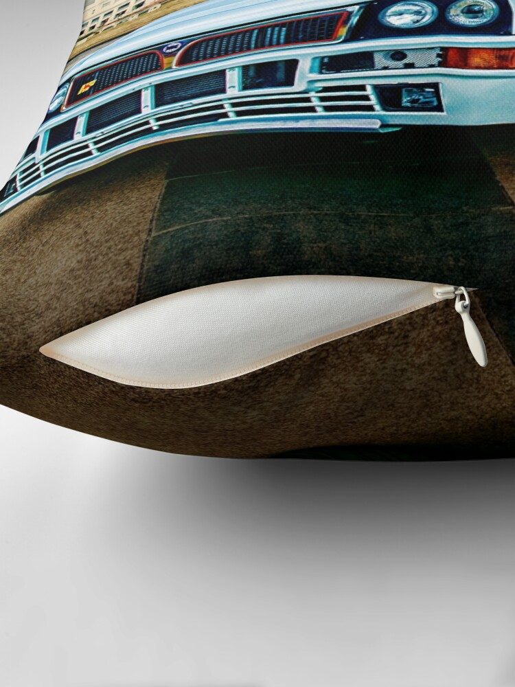 Alternate view of Lancia Delta HF Integrale Evoluzione Throw Pillow