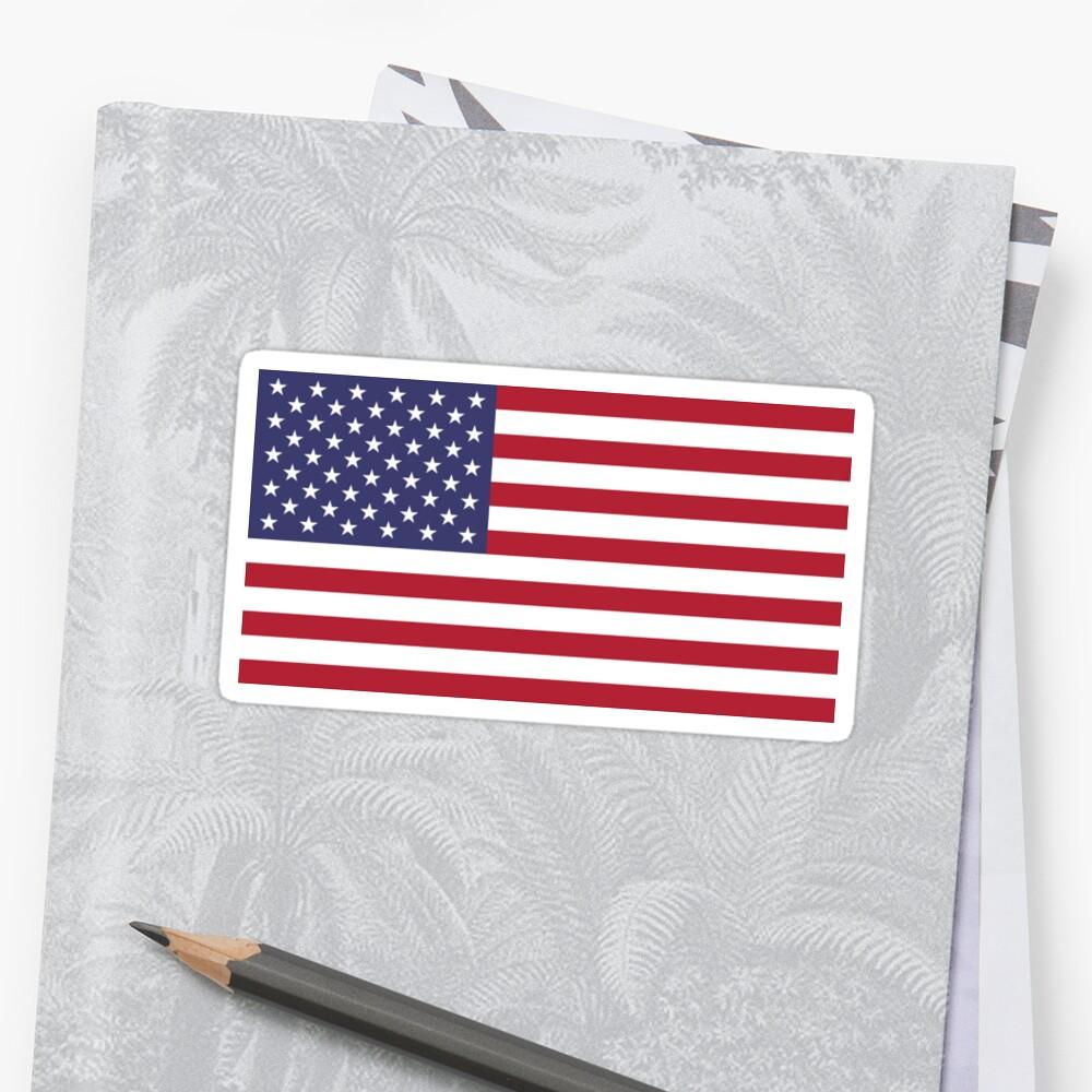 «Bandera estadounidense» de DarienBecker