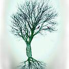 lone tree dreaming by ketut suwitra