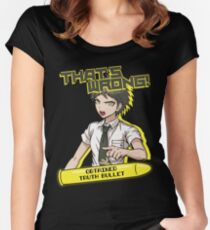 Hajime Hinata - That's Wrong Women's Fitted Scoop T-Shirt