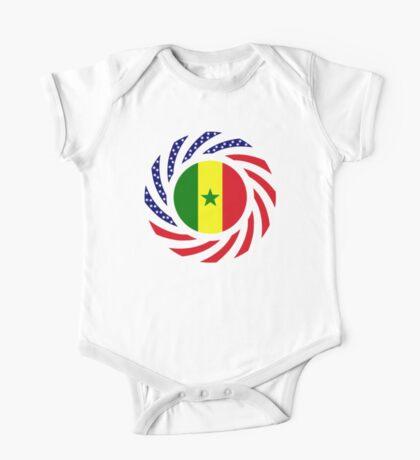 Senegalese American Multinational Patriot Flag Series Kids Clothes