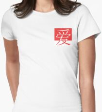 Chinese Love  Women's Fitted T-Shirt