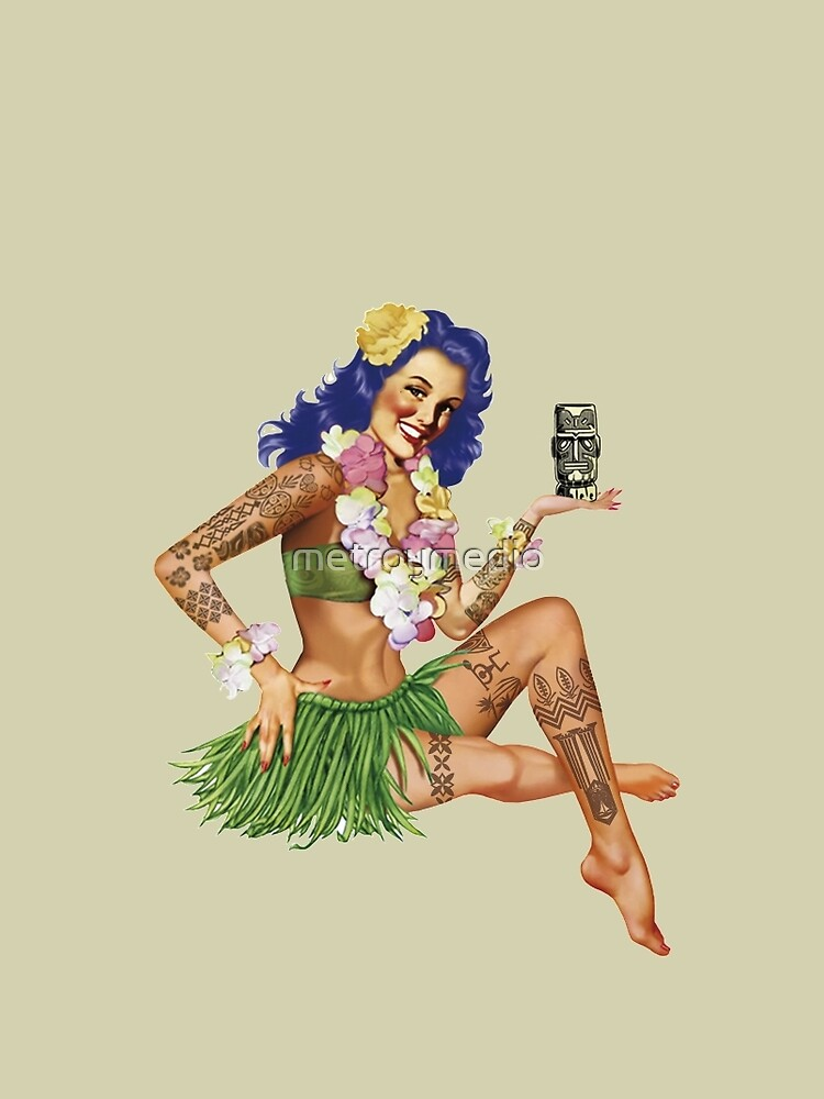 Hawaiischer Pin-up von metroymedio