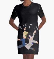 Supernatural Parody - Shake it off Graphic T-Shirt Dress
