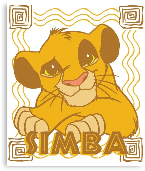 Simba Cub - The Lion King\