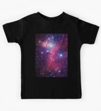 Purple Galaxy Kids Tee