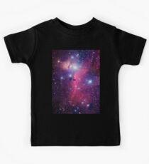 Purple Galaxy Kids Tee