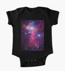 Purple Galaxy One Piece - Short Sleeve