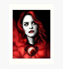 Erica BlackHeart Art Print