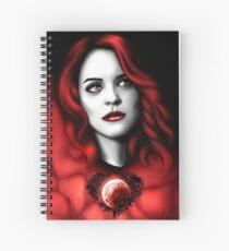 Erica BlackHeart Spiral Notebook