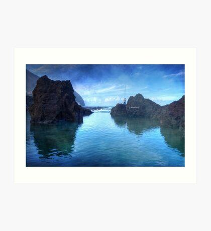 The Fisherman: Porto Moniz, Madeira Art Print